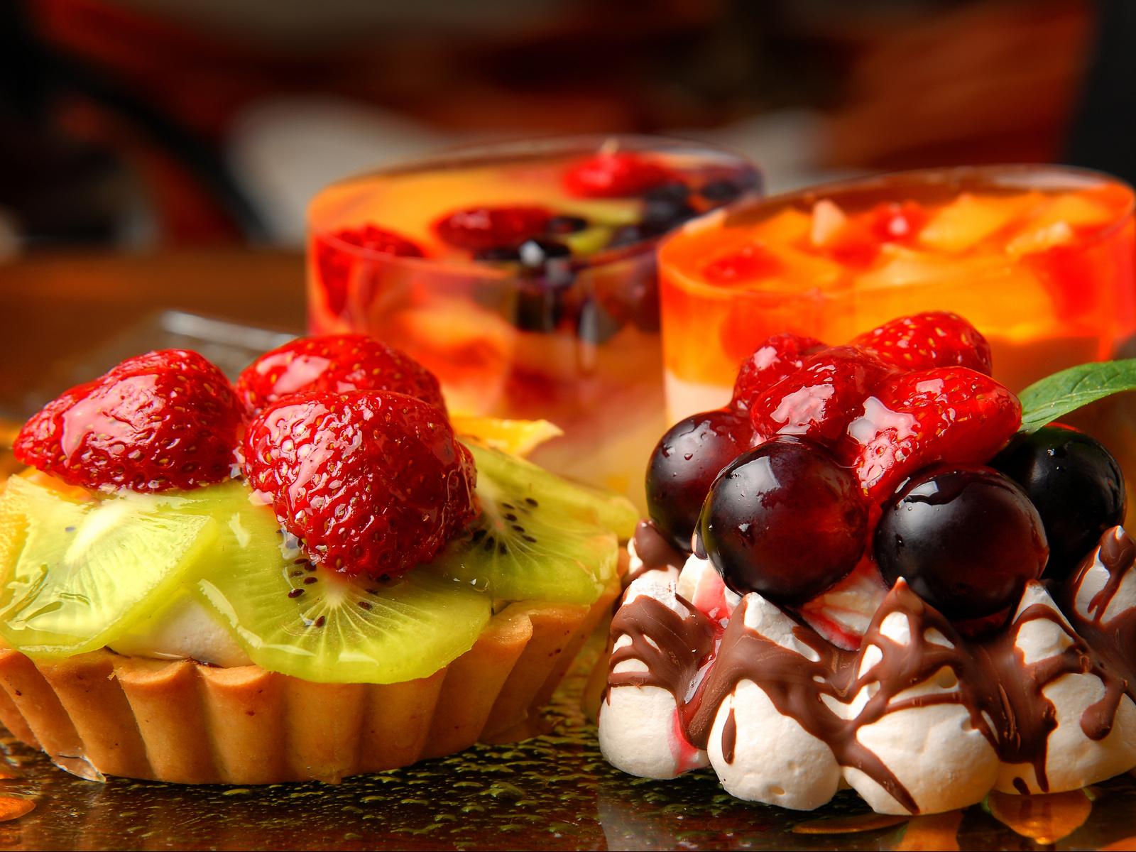 Вкусные десерты фруктовыйы с фото