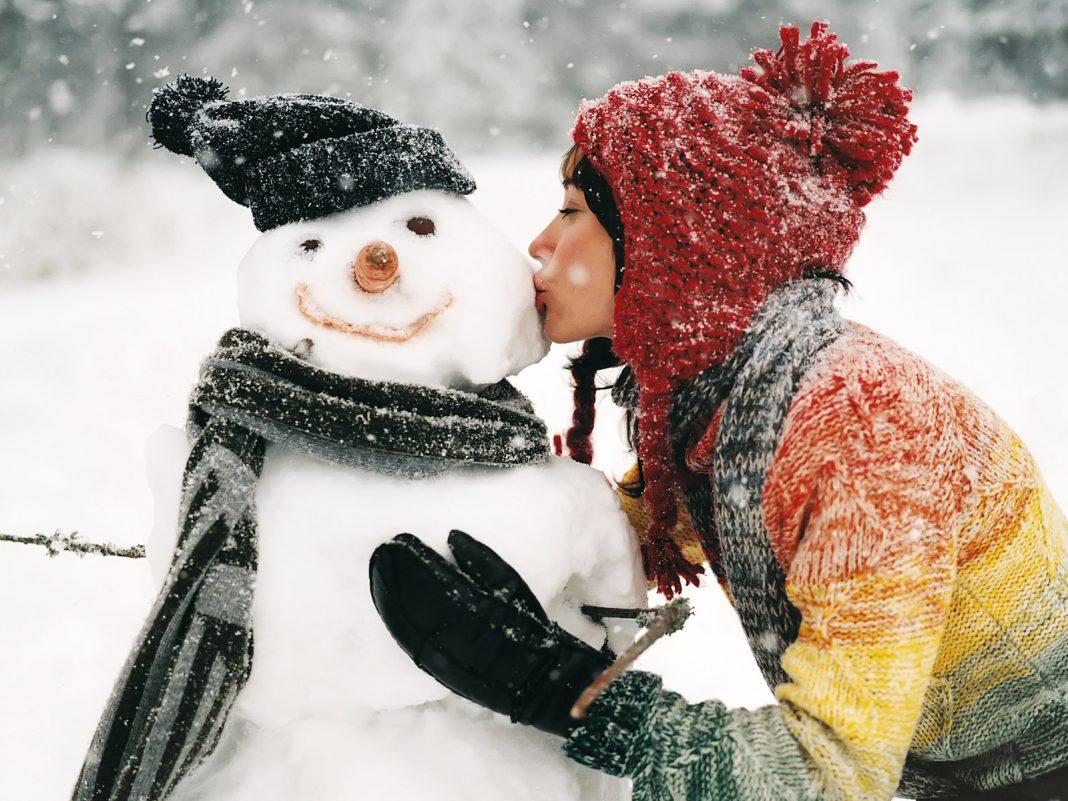 День фотосессии со снеговиком