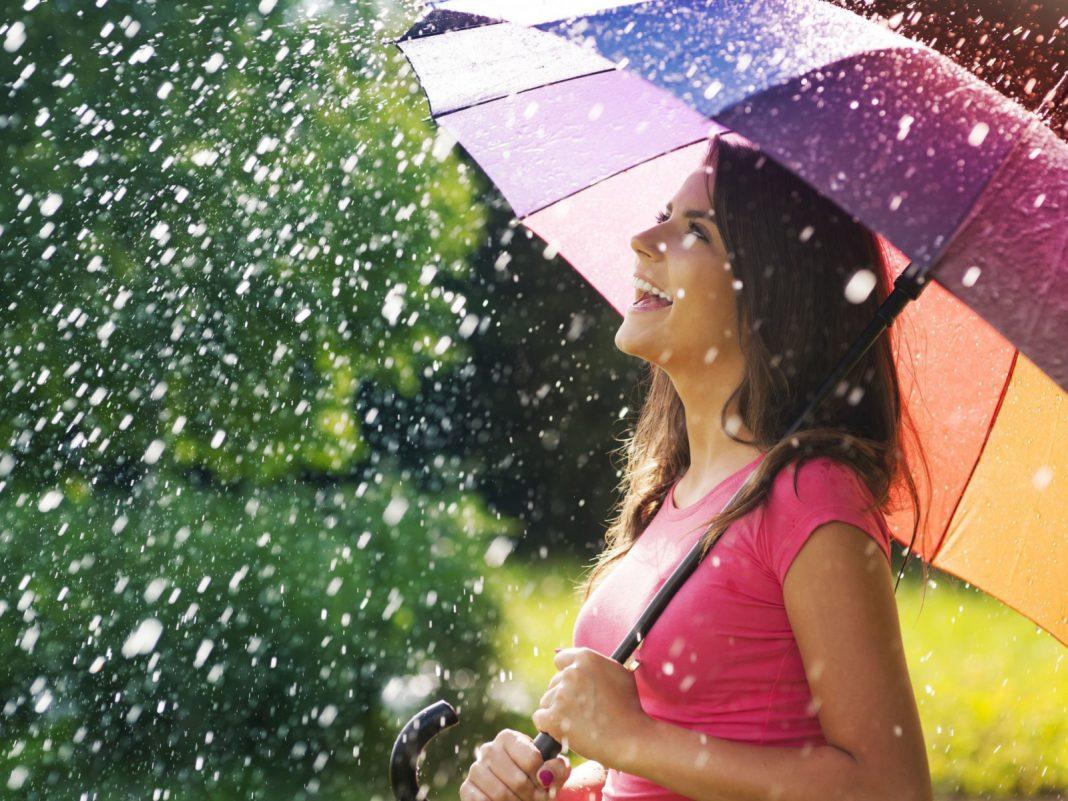 День прогулки под дождем